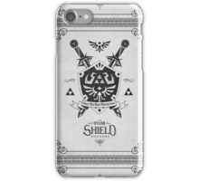 Legend of Zelda Hylian Shield Geek Line Artly  iPhone Case/Skin