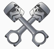 Piston Head Trooper Crossbones by Jamspeed