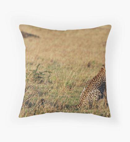 Cheetah - Masai Mara Throw Pillow