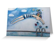 Dive For You Greeting Card