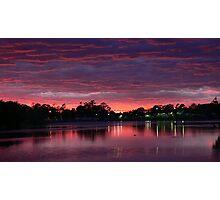Unrivaled Sunset...Gipsland,Victoria Photographic Print