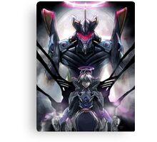 Kawrou Evangelion Anime Tra Digital Painting  Canvas Print