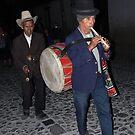 Two-Man Band...Antigua,Guatamala by graeme edwards