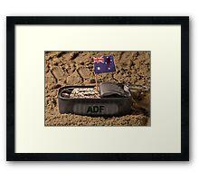 Sardine Soldiers Framed Print