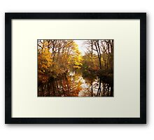 Moments of Reflection Framed Print
