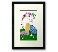 Reality is Boring Framed Print