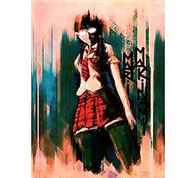Mari Makinami Evangelion Anime Tra Digital Painting  Photographic Print