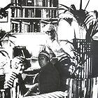 Visiting David Hockney ( Time Travel ) by Richard  Tuvey