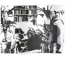 Visiting David Hockney ( Time Travel ) Poster