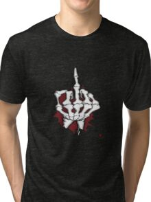 THE FINGER Tri-blend T-Shirt