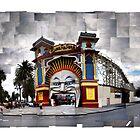 Luna Park, St Kilda: Scattered by thescatteredimage