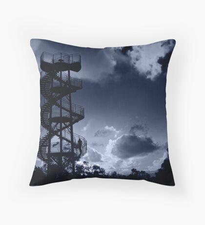DNA Tower Kings Park Throw Pillow
