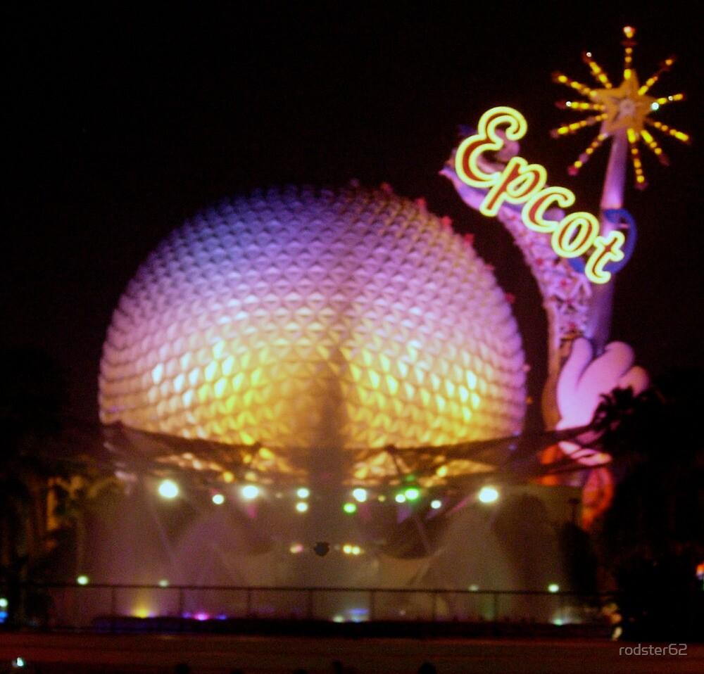 """""""Epcot at Night"""" by rodster62"""