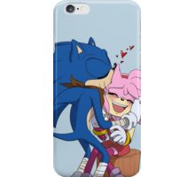 Sonic&Amy: Kisses iPhone Case/Skin