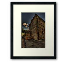 Ward 3 - Tarban Creek Lunatic Asylum - Gladesville - The HDR Experience Framed Print