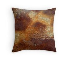 Panning for Gold Throw Pillow