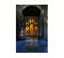 Autumn Colors From The Washington Memorial Chapel Art Print