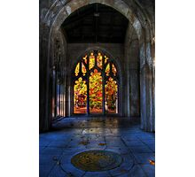 Autumn Colors From The Washington Memorial Chapel Photographic Print