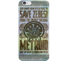 Metroid Propaganda Geek Line Artly  iPhone Case/Skin