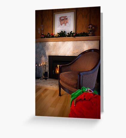 Missing You at Christmas. Greeting Card