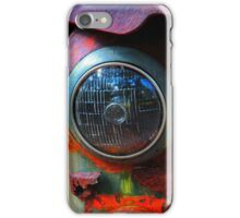 rusty headlight iPhone Case/Skin