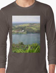 a historic Sierra Leone landscape Long Sleeve T-Shirt