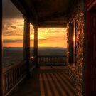 Sunset View From Pagoda Porch by Michael Mill