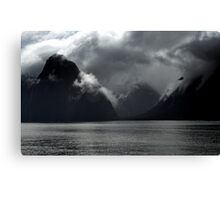 In the Hall of the Mountain King- Storm Clouds. Canvas Print