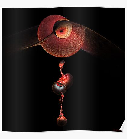 Red Shell Chime Poster