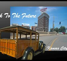 """Back To The Future"" Kansas City by TeeMack"