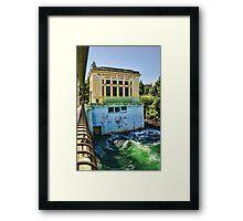Washington Water Power Co. Framed Print