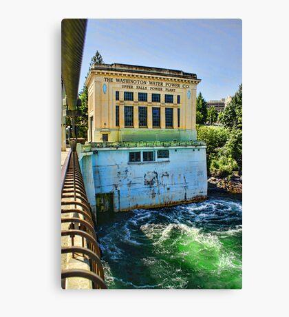 Washington Water Power Co. Canvas Print