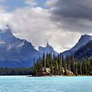 Spirit Island and Mountains by Jann Ashworth