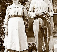 American Gothic Revisited by BCallahan