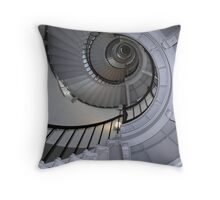 Florida lighthouse stairs Throw Pillow