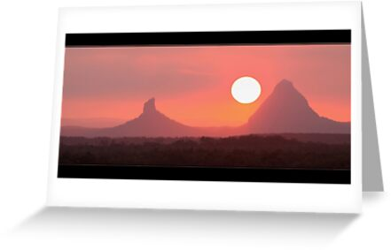 Glass House Mountains by batch