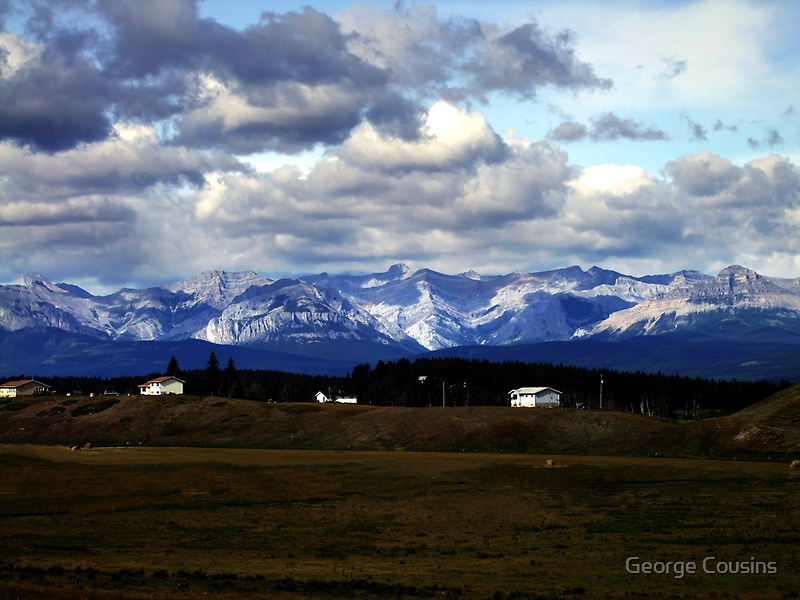 Foothills Morning by George Cousins