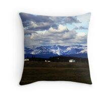 Foothills Morning Throw Pillow