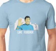 Nimoy will live forever Unisex T-Shirt