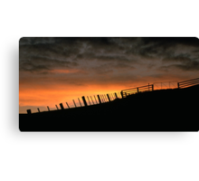 Barrabool Hills Skyline Canvas Print