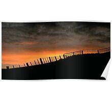 Barrabool Hills Skyline Poster