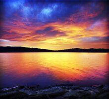 Celestial Sunset by Ryan Houston