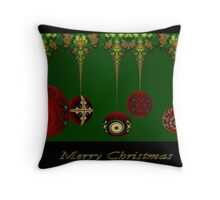 Oh Chirstmas Blulbs Throw Pillow