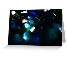 A Bokeh of Gems I Greeting Card