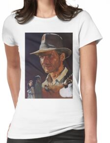 Raiders Of The Lost Ark Womens Fitted T-Shirt