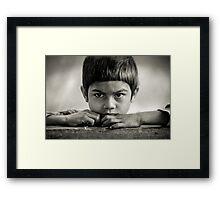 Annapurnas Framed Print