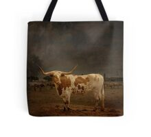Texas Long Horn Tote Bag