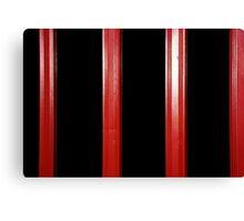 Folding door. Canvas Print