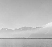 Lac Leman by Paul Ryan