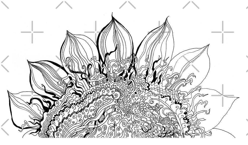 Sunflower by Svetlana Mikhalevich